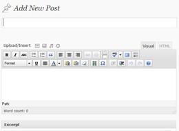 Creating Posts in WordPress