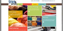 Stitch & Print Website by CPD | A Top Rated Web Design Agency in San Diego