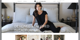 Lux Loungewear Shopify E-Commerce Website by by CPD   A Top Rated Web Design Agency in San Diego