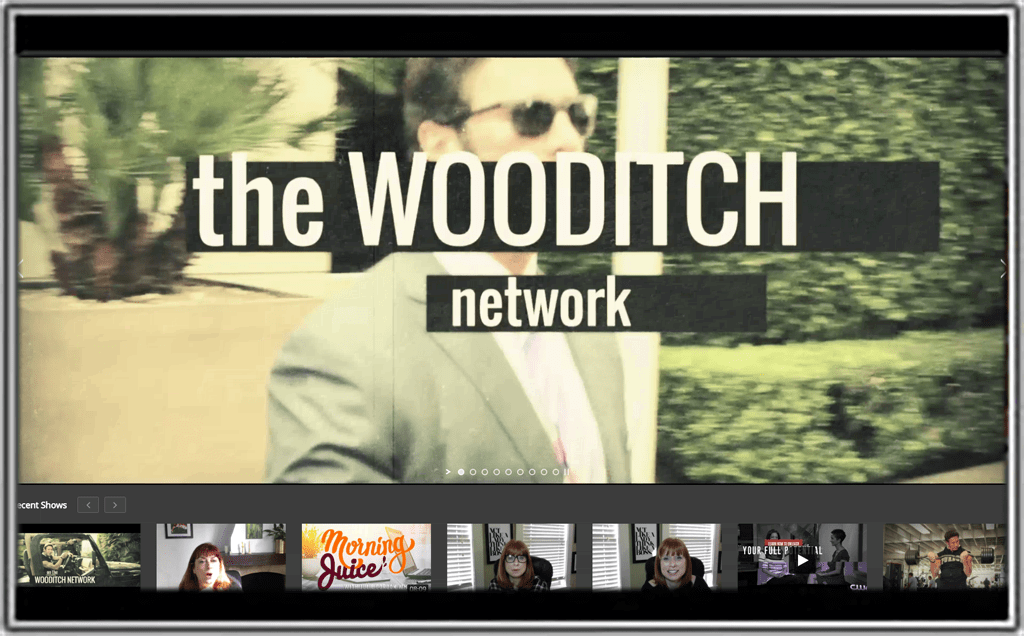 Web Desgign Project ⋆ The Wooditch Network ⋆ Crown Point