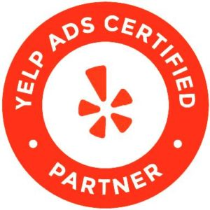 Crown Point Design Yelp Agency Partner Badge