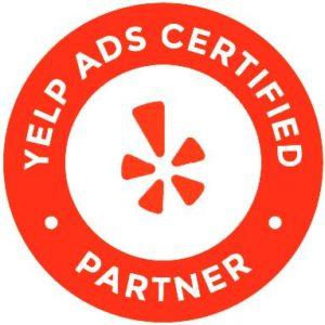 Crown Point Design Yelp Agency Partner Badge
